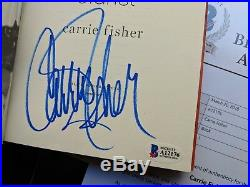 SIGNED Carrie Fisher Leia Princess Diarist Book Star Wars Signature Authentic
