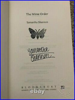 SIGNED, LIMITED The Bone Season Priory of Orange Tree, Samantha Shannon, UK 1st