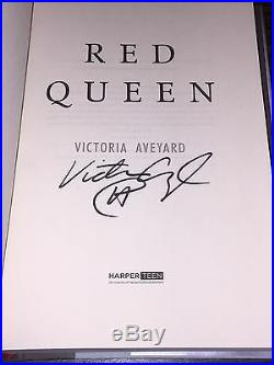 SIGNED Red Queen Book One 1st/1st VICTORIA AVEYARD