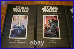 SIGNED Star Wars 30th ANN HC Graphic Novel 12 Vol SET 2007 Boba Fett Dark Horse