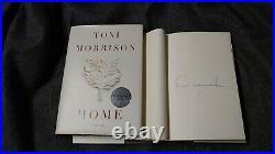 SIGNED Toni Morrison Home Book 1/1 HC Pulitzer Prize Presidential Medal DJ New