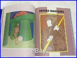 STARWATCHER MOEBIUS, 1992 ART Book, Mint condition, Casterman Trajets