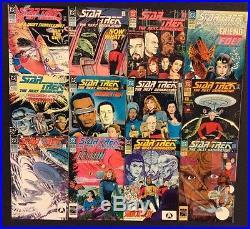 STAR TREK THE NEXT GENERATION #1 80 Comic Books+ FULL SET Picard WORF Data DC
