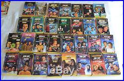 STAR TREK books Lot of 131 Original PB and much more James T. Kirk