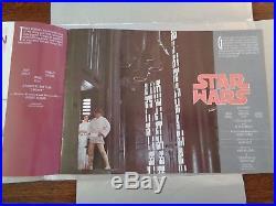 STAR WARS 1976/77 20th CENTURY FOX PROMO BOOK NM- EARLIEST STAR WARS ITEM RARE