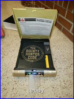 STAR WARS Book of bounty hunter code Vault Edition HARDCOPY boba fett in box