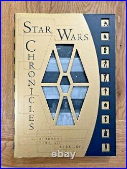 STAR WARS-CHRONICLES by DEBORAH FINE and AEON INC