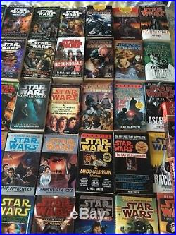 STAR WARS Lot of 95 Paperback Books A Bit Of Everything Free Shipping