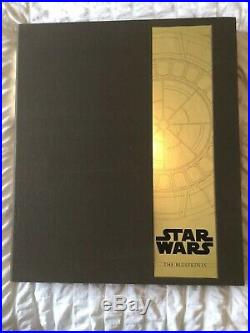 STAR WARS THE BLUEPRINTS by JW Rinzler LIMITED EDITION HARDCOVER BOOK NEW