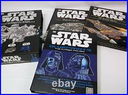 STAR WARS The Complete Vehicle Cross-Sections and Blueprints 2 Books + post