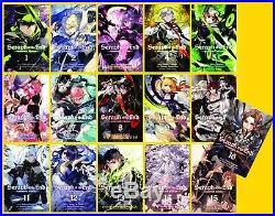 Seraph of the End Series English Manga Collection Books 1-17 BRAND NEW