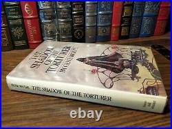Shadow of the Torturer Gene Wolfe Book of the New Sun First Edition 1st Print