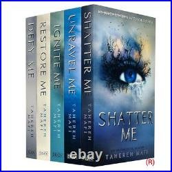Shatter Me Series 5 Books Collection Box Set by Tahereh Mafi NEW