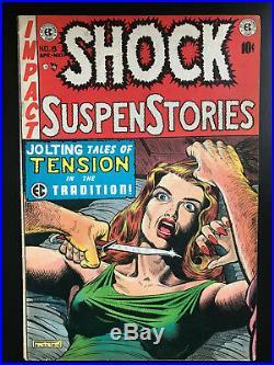 Shock SuspenStories 1953 #8 First Printing Original Comic Book EC PCH Pre Code