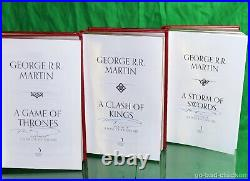 Signed A GAME OF THRONES A Clash Of Kings & ASOS George R R Martin 3 BOOK SET