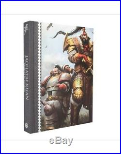 Signed Jaghatai Khan by Chris Wraight Warhammer Primarchs Limited New Mint book8