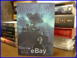 Signed Limited Subterranean Press The Three-Body Problem Cixin Liu +Dark Forest