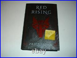 Signed Pierce Brown Red Rising Barnes&Noble Exclusive Howler's Edition
