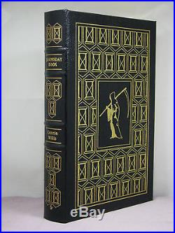 Signed by 2(author, intro) Doomsday Book by Connie Willis, Easton Press, 3 award wn