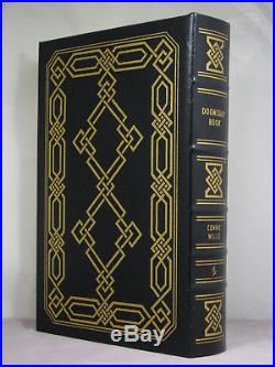 Signed by author, Doomsday Book by Connie Willis, Easton Press, 3 award winner