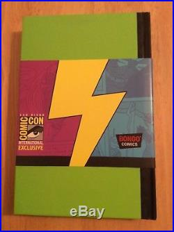 Signed with Sketch SDCC 2012 SIMPSONS RADIOACTIVE MAN Book by MATT GROENING + Pic