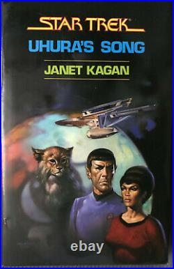 StarTrek Uhura's Song First Gregg printing (1985, Gregg Press Hardcover)