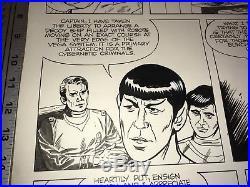 Star Trek Robot Master Book & Record set (1979) ORIGINAL ART page 5 Jack Kirby