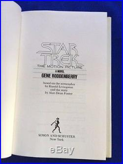 Star Trek The Motion Picture 1st. Ed. By Gene Roddenberry Not A Book Club