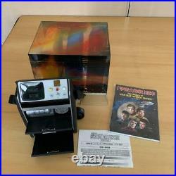 Star Trek Tricorder AM / FM Radio withDVD case, Book Rare Japanese Exclusive #13150