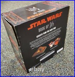 Star WarsBook Of SithSecrets From The Dark SideVault/ Holocron CaseRare