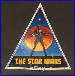 Star Wars 1977 Extremely Rare Cast And Crew Glory Book / Prop