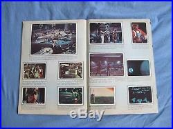 Star Wars 1977 Guerre Stellari Gifurine Panini Card Book Complete