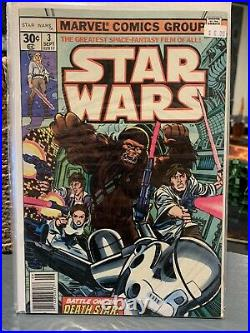 Star Wars #1-107 (Jul 1977, Marvel Comic Book Lot)