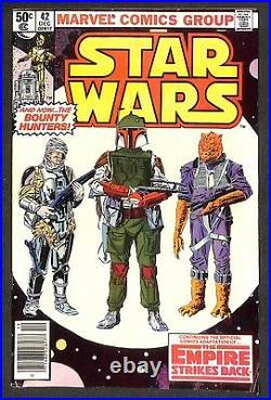 Star Wars #42 1st Appearance Boba Fett Marvel Comics 1980 Comic Book Key Issue