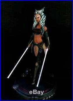 Star Wars Ahsoka Exclusive 1/4 Premium Format Statue Darth Talon + Sideshow Book