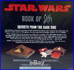 Star Wars Book of Sith Secrets From The Dark Side Vault Edition NEW SEALED
