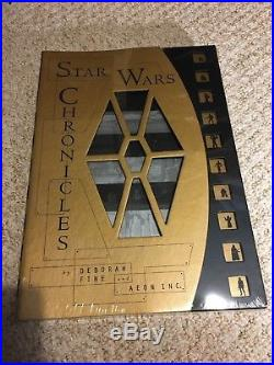 Star Wars Chronicles Book 1997 Rare NEW and in original seal