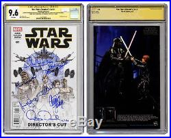 Star Wars Comic Book Signed by Cast incl Carrie & R2D2 Celebrity Authentics COA