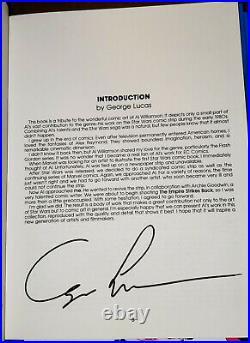 Star Wars Comics Box Set Archie Goodwin + Al Williamson Autographed HTF Rare