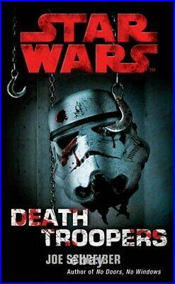 Star Wars Deathtroopers by Joe Schreiber Paperback Book The Cheap Fast Free