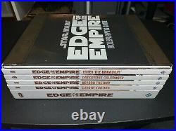 Star Wars Edge of the Empire Role Playing Game Book Lot (FFG)