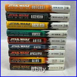 Star Wars Fate of the Jedi Complete 9 Book Set Hardcover 1st Edition VGC 2010