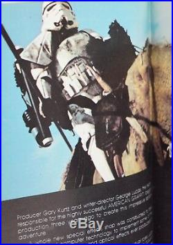 Star Wars First Edition George Lucas Rare 1st Printing Book 1976 Jedi S27