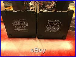 Star Wars Gentle Giant Trash Compactor Book Ends 108 of 1100 2010 Complete