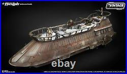 Star Wars Jabbas Sail Barge Khetanna Vintage Collection with Yak Face & Book NIB