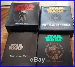 Star Wars Jedi Path Book Of Sith Bounty Hunter Code Imperial Handbook Vault Lot