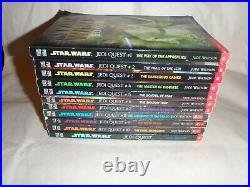 Star Wars Jedi Quest Complete Set Of 11 Books Total By Jude Watson