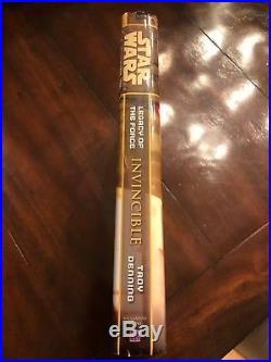 Star Wars Legacy of The Force HC Books Complete Set of 9 SFBC Original Edition