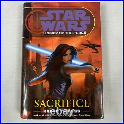 Star Wars Legacy of the Force 9 Book Set Hardcover 1st Ed VGC 2007