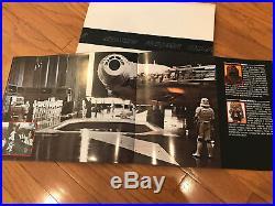 Star Wars Original Pressbook/Exhibitors/Campaign book Mint unopened Condition